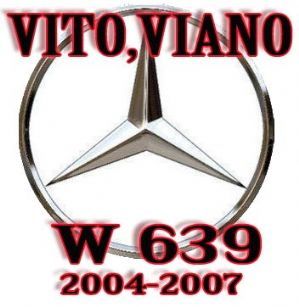 MERCEDES srs Viano ,Passenger Airbag SEAT OCCUPANCY SENSOR ,BYPASS UNIT VITO- VIANO W639 (1)
